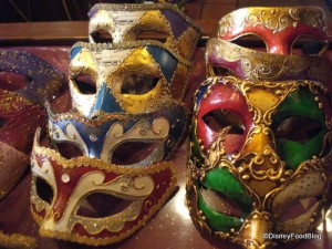 Masks in Epcot's Italy