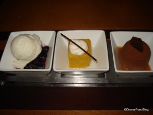 The Wave Trio of Desserts
