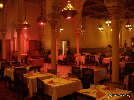 Marrakesh Tables and Pink? Lighting