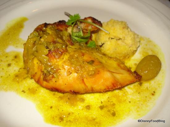 Lemon Chicken and Couscous