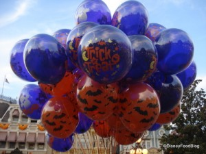 Halloween Balloons at Disney World