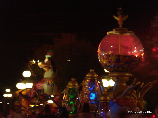 Goofy's Candy Company Parade Float