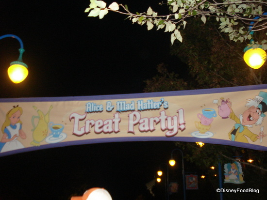 MNSSHP Alice and Mad Hatter Treat Party