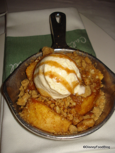 California Grill Apple Cobbler