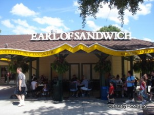 Earl of Sandwich in Downtown Disney Orlando