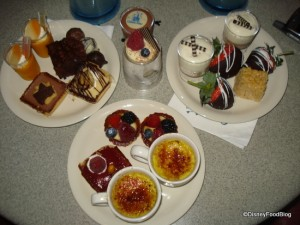 Our Plate of Goodies at the Wishes Dessert Party