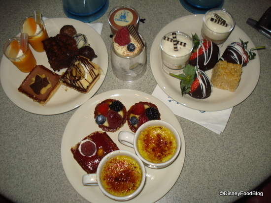 Goodies at the Wishes Dessert Party