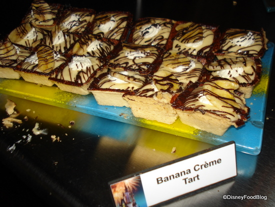 Banana Creme Tart