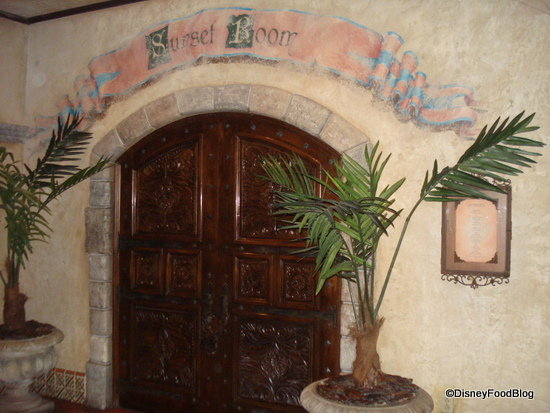 Hollywood Tower of Terror's Sunset Room Restaurant