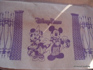 Disney Parks' Themed Halloween Napkins