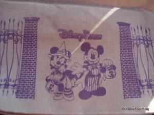 Disney Parks' Themed Halloween Napkins