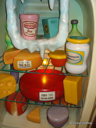 And Minnie's Freezer Section