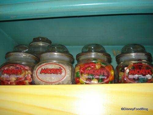 Mickey's Candy Company Items
