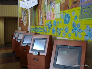 Contempo Cafe Ordering Computer Stations