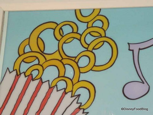 Onion Ring Hidden Mickey at Beaches and Cream