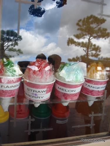 Kaki Gori Flavors