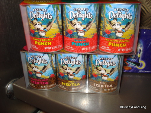 Mickey's Resort Delights Punch and Iced Tea Flavors