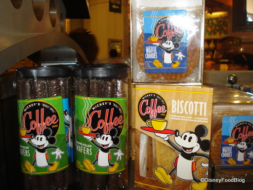 Mickey's Really Swell Coffee Brand Treats