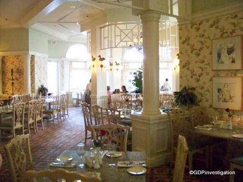 Grand Floridian Cafe Decor