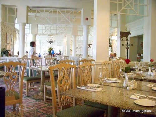Grand Floridian Cafe Atmosphere