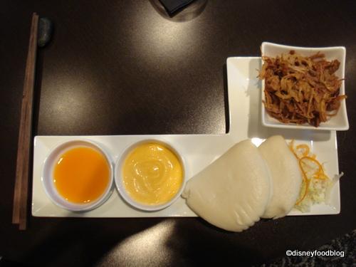 BBQ Pork Bao Bun Sandwiches