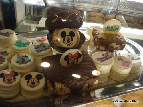 Chocolate Decorative Disks at Disney