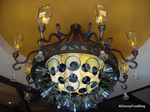 Paradiso 37 Bar Glasses Chandelier