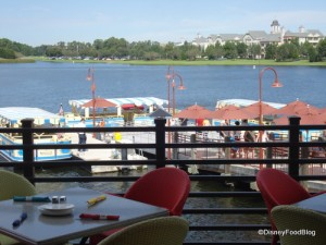 Outdoor Seating and View