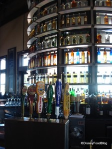 Paradiso 37 Tequila Bottle Bar Focal Point