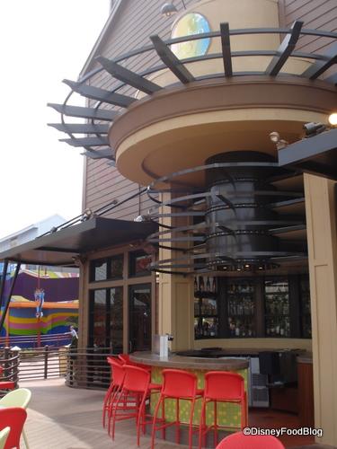 Paradiso 37 Outdoor bar