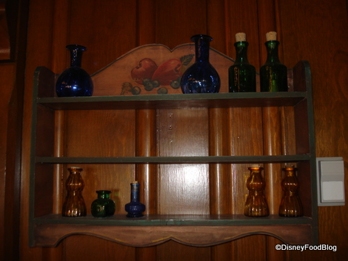 Decorative Rack Containing Blueberry Hidden Mickey