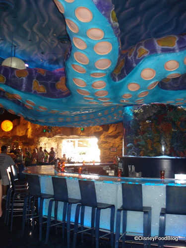 A Wider Shot of the Octopus Bar for Context