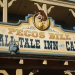 Sign from Frontierland Side