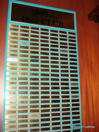 48 Oz. Club Wall Plaque