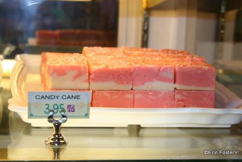 Disney's Candy Cane Fudge for the Christmas Season