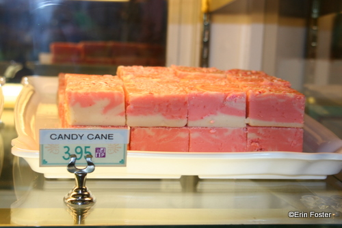 Disney's Candy Cane Fudge for the Christmas Season