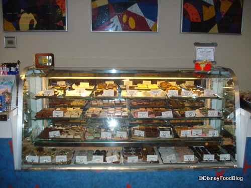 Contemporary Resort Fudge Counter