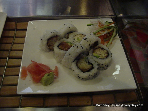 Kona Sushi Bar Crab Cake Roll