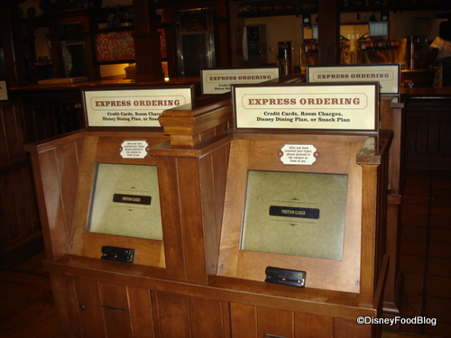 Computers for Ordering at Pecos Bill Tall Tale Inn and Cafe