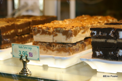 Smores fudge is on the right...