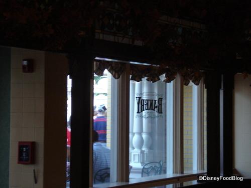 Main Street Bakery Window