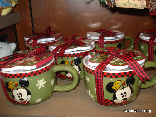 Frontierland Mickey Mugs and Notepads