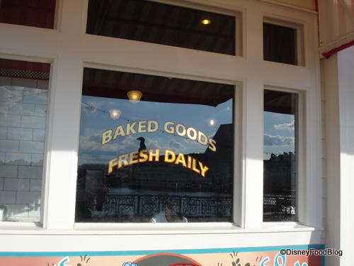 Boardwalk Bakery window