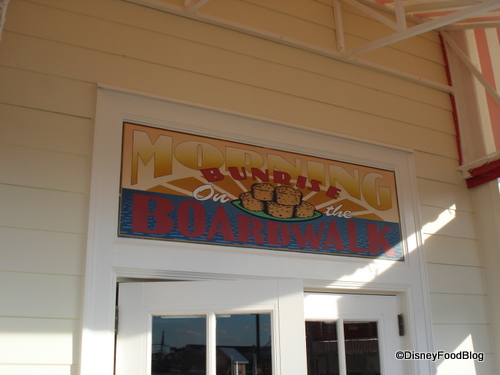 Boardwalk Bakery Entry
