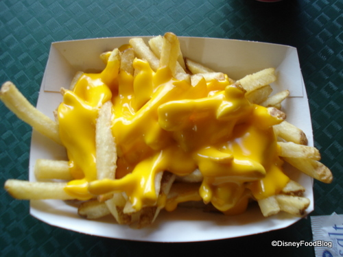 Cheese Fries at All Star Movies