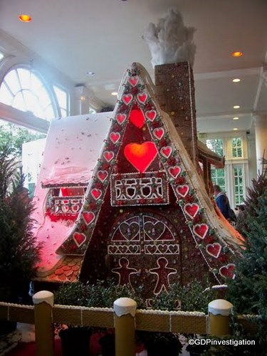 Gingerbread House at American Adventure