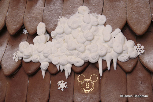 Contemporary Gingerbread Tree Hidden Mickey