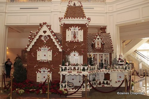 Grand Floridian gingerbred house