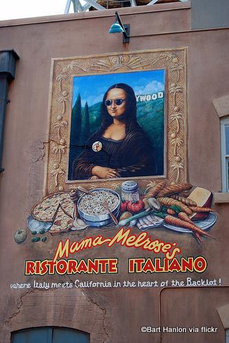 Mama Melrose Sign