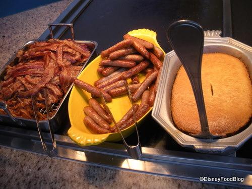 Breakfast Meats and Corned Beef Hash